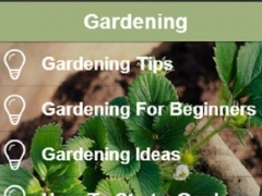 Gardening Tips - Ideas, Tips and Inspiration For Your Garden 1.0 Screenshot