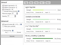 SecureSafe Pro Free Password Generator 5.4 Screenshot