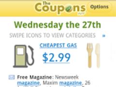 Gas Coupons 9.87 Screenshot