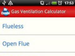Gas Ventilation Calculator 1.2 Screenshot