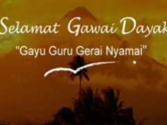 Gawai Dayak Greeting Card 1.2 Screenshot
