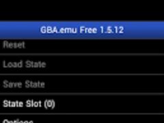 GBA.emu Free 1.5.12 Screenshot