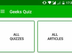 GeeksQuiz 1.3 Screenshot