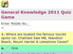 General Knowledge 2011 1.0 Screenshot