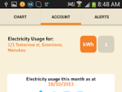 Genesis Energy MyMeter 1.8 Screenshot