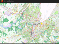 Geneva Offline Map 1.0 Screenshot