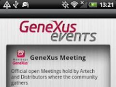 GeneXus Events 2.1 Screenshot