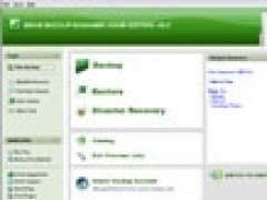 Genie Backup Manager Home 8.0 Screenshot