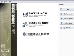 Genie Outlook Backup 6.0 Screenshot