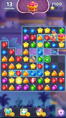 Genies & Gems – Jewel & Gem Matching Adventure