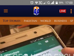 Review Screenshot - Geo TV App-Keeping You Updated with all the Happenings in Pakistan