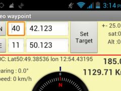 Geo Waypoint ( Geocaching ) 1.4 Screenshot