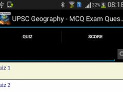 Geography MCQ Questions 2.0 Screenshot