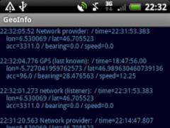 GeoInfo 0.1 Screenshot