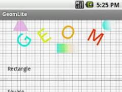 GeomLite 1.1 Screenshot