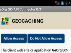 GeOrg GC-API Connector 0.42 Screenshot