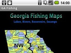 Georgia Fishing Maps - 14K 1.0 Screenshot