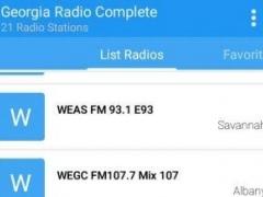 Georgia Radio Complete 1.0 Screenshot