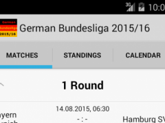 German Bundesliga 2015/16 1.0 Screenshot