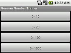 German Numbers Trainer FREE 1.2.1 Screenshot