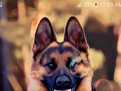 German Shepherd Dog LWP 4.0 Screenshot