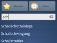 German Turkish Dictionary Free 1.0 Screenshot