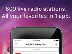 Germany Radio Live (Deutschland - German Radio) 1.0 Screenshot