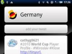 Germany Twitter World Cup 2.2 Screenshot
