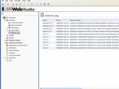 GFI WebMonitor Freeware 2009 Screenshot