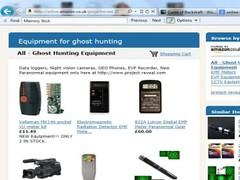 Ghost Hunting Shop 0.91 Screenshot