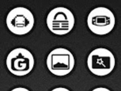 Ghost Rounds White Icons 1.2 Screenshot