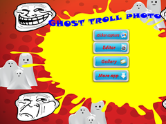 GHOST TROLL FUNNY PHOTO 1.0 Screenshot