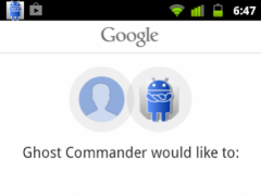GhostCommander plugin: GDrive 1.02.2 Screenshot