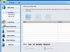 GiliSoft Privacy Protector 4.1.5 Screenshot