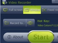 Free Screen Recorder 8.0 Screenshot
