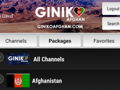 Giniko Afghan TV 1.0 Screenshot