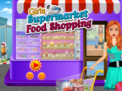 Girl Supermarket Food Shopping 1.3 Screenshot