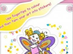 Girls: Colour & Sticker 1.06 Screenshot