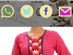 Girls Stylish Neck Designs-Embroided and Designers look New Fashion Dresess 1.0 Screenshot
