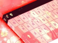 Girly Keyboard Theme 1.279.13.87 Screenshot