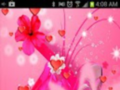 Girly Live Wallpaper Pro 1.2 Screenshot