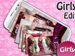 Girly Photo Editor Pro 1.1 Screenshot