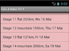 Giro d'Italia 2012 2.2 Screenshot