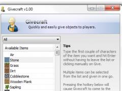Givecraft 1.02 Screenshot