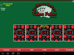 GKproggy Video Poker 2.1 Screenshot