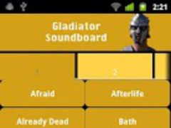 Gladiator Soundboard 1.0 Screenshot