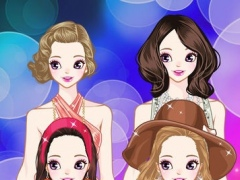 Glamorous Top Girl – Fashion Beauty Doll Salon Game for Girls and Kids 1.0 Screenshot