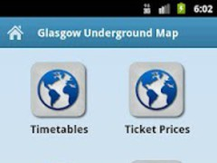 Glasgow Underground Metro Maps 1.0 Screenshot