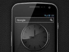 Glass clock. widget. LIGHT. 9 Screenshot