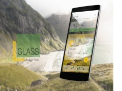 Glass Material Theme 1.00 Screenshot